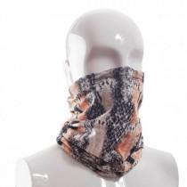 Masken-Schal-schlange-orange