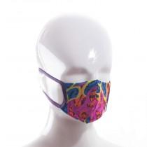 Mund-Nase-Maske-Kinder-neon-feder